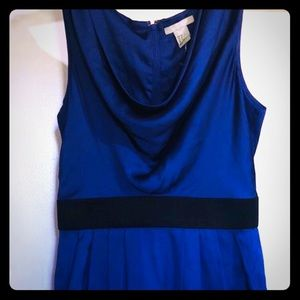 Blue pocket dress